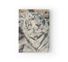 Water Painted Tigers Hardcover Journal
