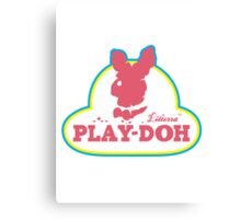 Play-doh  Canvas Print