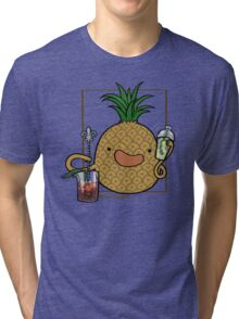 Pineapple :: Carnivorous Foods Series Tri-blend T-Shirt