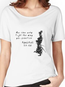 Samurai Quote Women's Relaxed Fit T-Shirt
