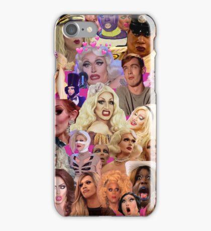 RuPaul Queens Collage iPhone Case/Skin