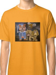 The bee's knees, the cat's pyjamas and the dog's bollocks Classic T-Shirt