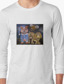 The bee's knees, the cat's pyjamas and the dog's bollocks Long Sleeve T-Shirt