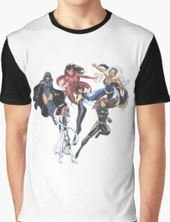 Marvel Female Superheroes Graphic T-Shirt