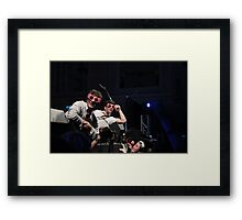 Harry & the Potters in Spectrespecs! Framed Print