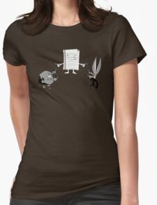 Mexican Standoff Womens Fitted T-Shirt