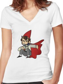 Wirt bab Women's Fitted V-Neck T-Shirt