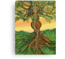 Tree Goddess of Fertility Canvas Print