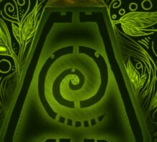 Tribal Earth. Sticker