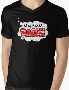 Mmm Bacon Mens V-Neck T-Shirt