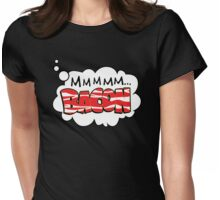 Mmm Bacon Womens Fitted T-Shirt