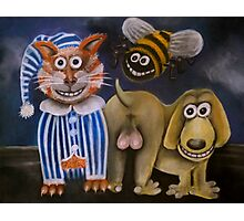 The bee's knees, the cat's pyjamas and the dog's bollocks Photographic Print