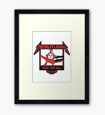 Melalitubby: Hug Em' All Framed Print