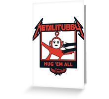Melalitubby: Hug Em' All Greeting Card