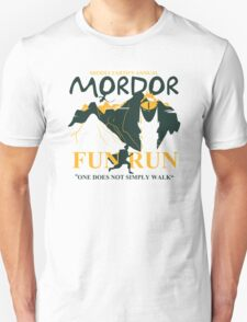 Mordor Fun Run Unisex T-Shirt