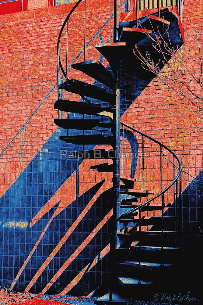 Spiral Staircase Multi-color(B) by Ralph B. Chance