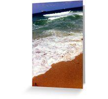 Ocean Shore Greeting Card