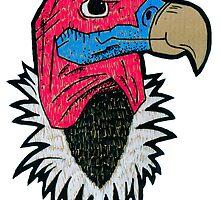 Vulture by BizarreBunny