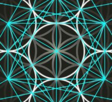 Merkaba Flower of Life Sticker
