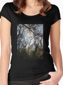 Bidwell Trees (original) Women's Fitted Scoop T-Shirt