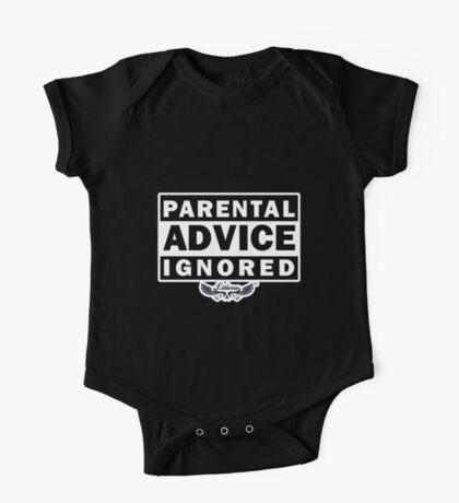 Parental Advice Ignored One Piece - Short Sleeve