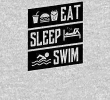 Eat Sleep Swim Funny Unisex T-Shirt