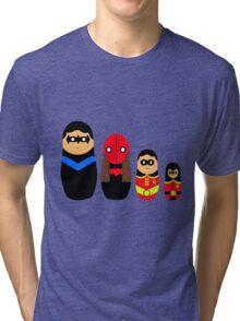 Nesting Robins Tri-blend T-Shirt