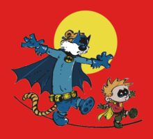 Dynamic Duo Calvin and Hobbes Kids Tee