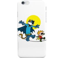 Dynamic Duo Calvin and Hobbes iPhone Case/Skin