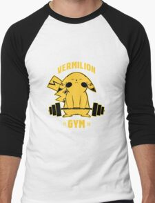 Vermilion Gym EDR 566  Men's Baseball ¾ T-Shirt