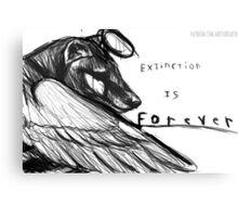 Thylacine Canvas Print