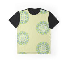 Tilted Order Circle Bright Graphic T-Shirt