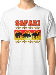 Safari Wild Life Hunt Classic T-Shirt