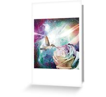 Rose Orion Hummingbird Greeting Card