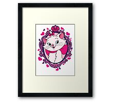 I'm a lady, that's why. Framed Print