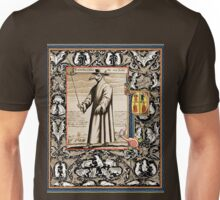 P is for Plague Doctor Unisex T-Shirt