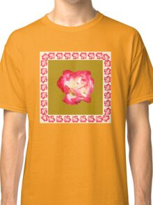 Red and Cream Rose Classic T-Shirt