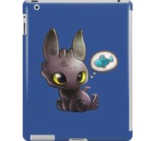 hungry Baby Toothless Dragon iPad Case/Skin