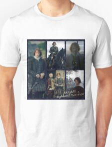 JAMMF/Highland Warrior collage  Unisex T-Shirt