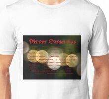 I Want to Wish You A Merry Christmas Unisex T-Shirt