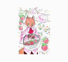 Red Pop Fox Illustration Unisex T-Shirt
