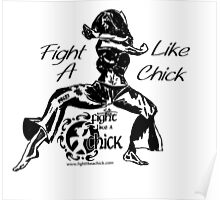 """Fight Like A Chick"" Poster"