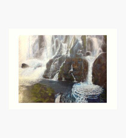 Iguazu- A piece of paradise Art Print