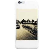 The Winchester Brothers iPhone Case/Skin