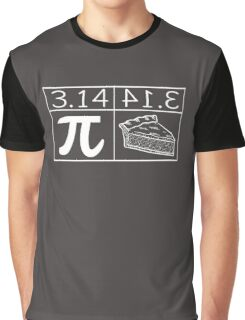 PIE VS PIE Funny Graphic T-Shirt
