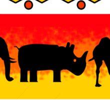 Little Zoo Sticker