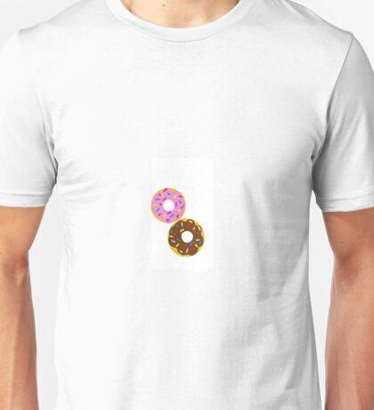 yummy sprinkled donuts. strawberry, chocolate Unisex T-Shirt