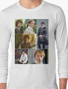 Outlander/Jamie collage  Long Sleeve T-Shirt