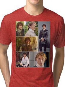 Outlander/Jamie collage  Tri-blend T-Shirt