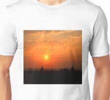 Sunset over Bagan Unisex T-Shirt